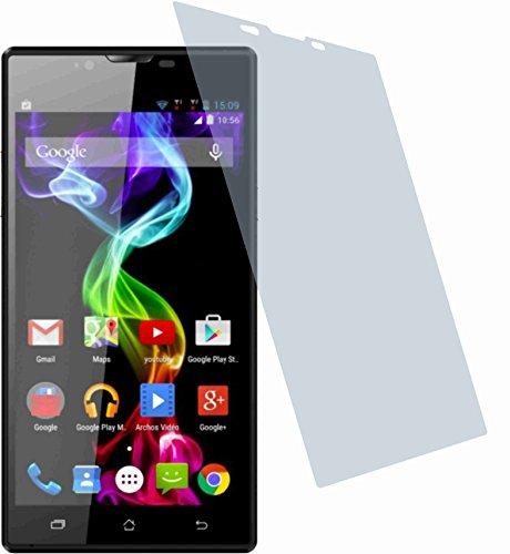 4ProTec Gehärtete Bildschirmschutzfolie für Archos 55 Platinum (2 Stück) Displayschutzfolie ANTIREFLEX Schutzhülle Bildschirmschutz Bildschirmfolie Folie