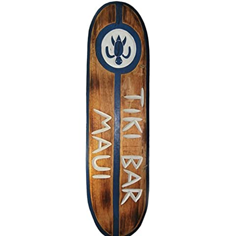 Tabla de Surf 100 cm Tiki Bar Decoración colgar Lounge Style
