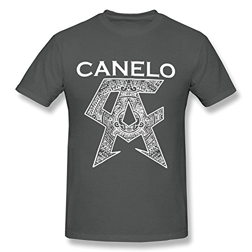 b213de5c5 Men s T-shirt Canelo Alvarez Logo Boxing Player Black XXLarge