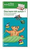 miniLÜK: Das kann ich schon 1: Einfache Zuordnungsspiele für Kindergartenkinder (Cover Bild kann abweichen)