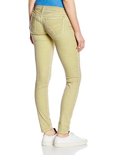 GAS - Jeans Jegging - Femme Jaune (YELLOW FLUO')