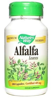 Nature's Way Organic Alfalfa Leaves (100 Capsules) by Nature's Way