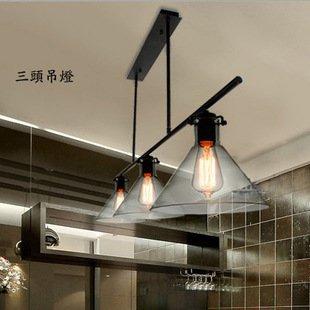YFF@ Il Nordic lampade minimaliste imbuto retrò incuneated ristorante Cafe lampadario Cabinet