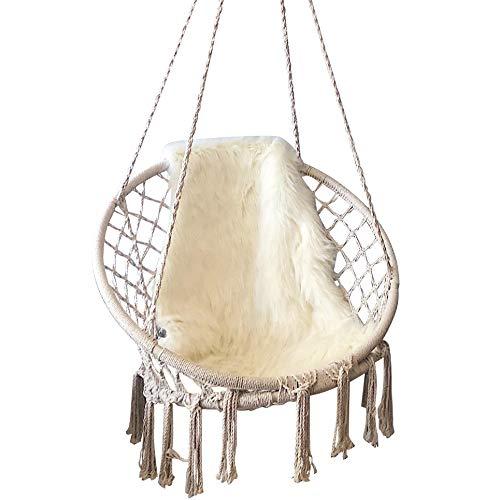Feiren Outdoor intérieure salon suspendus chaises Macrame hamac chaise