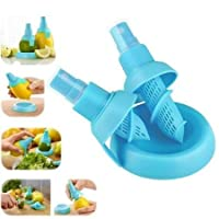 Lemon Spray New Arrival Best Selling Lowest Price Citrus Juice Sprayer, Hand Juicer, Mini Squeezer, Quick & Easy Kitchen Aid Tool, Innovative Gadget for your Kitchen, Handy for Everyday Cooking, High Quality Food Grade Silicone & PP Material, Safe to Use for Food, Top Rack Dishwasher Safe, Use it to Spray Citrus Juice Mist on Soft Drinks, Cocktails, Mocktails, Vegetables & Salads Making them Delicious & Refresh Your Mouth