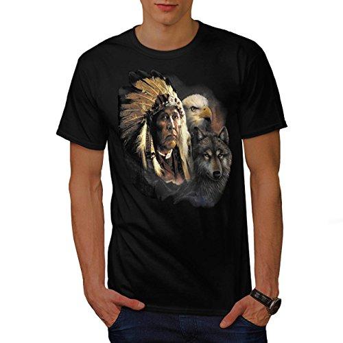 indian-american-eagle-native-wolf-men-new-black-l-t-shirt-wellcoda