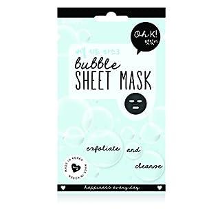Oh K! Reinigendes Gesichtsmaskentuch – Tuchmaske mit Bubble-Tonerde-Extrakt
