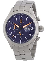 Nautec No Limit Herren-Armbanduhr XL Tempest Analog Automatik Edelstahl TM AT/STSTSTBL-OR