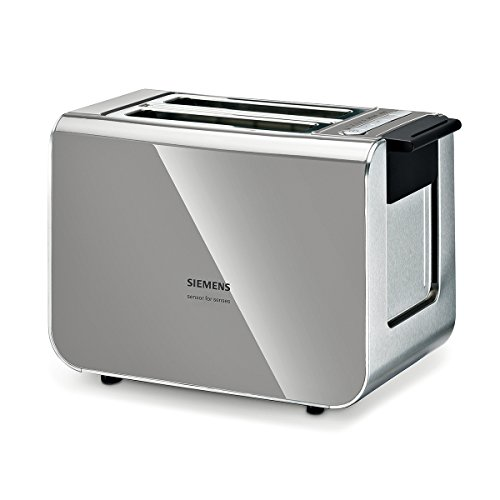 Price comparison product image Siemens TT86105 - toaster - urban grey/black