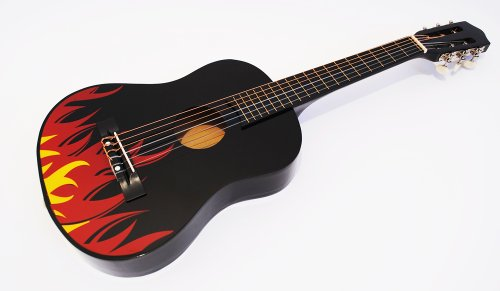 Kindergitarre Konzertgitarre im neuen Design (1/2, Modell 7)
