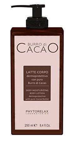 Phytorelax Laboratories Cocoa Butter Lozione Per Corpo - 250 ml