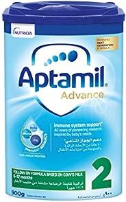 Aptamil Advance 2 Next Generation Follow On Formula From 6-12 Months, 900G