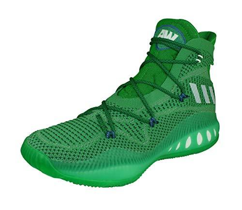 adidas Crazy Explosive Primeknit - evegrn/ftwwht/cgreen, Größe:14 (Größe 14 Basketball-schuhe Adidas)