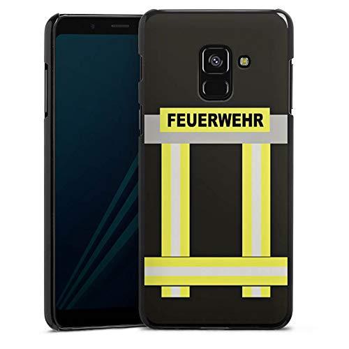 DeinDesign Hülle kompatibel mit Samsung Galaxy A8 Duos 2018 Handyhülle Case Feuerwehr Feuerwehrmann Firefighter