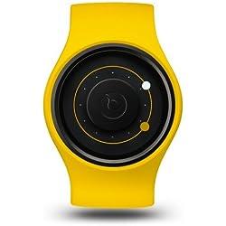 ZIIIRO Orbit Unisex Silikon / Edelstahl Watch Banana wechselbare Uhr