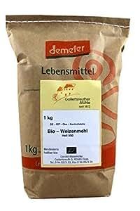 Bio blé 4x lumineux 1kg - Demeter blé biologique farine type 550