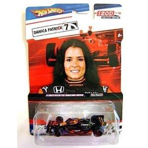 mattel-hot-wheels-nero-arancione-izod-indycar-serie-vera-riders-danica-patrick-7-boost-mobile-go-dad