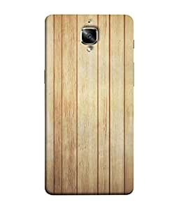 PrintVisa Designer Back Case Cover for OnePlus 3 :: OnePlus Three :: One Plus 3 (Superb wood verticle planks solid)