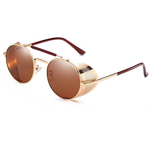 Sunglasses Gothic Steam Punk Style Retro Sun Glasses For Men Punk Eyeglasses Hippy Eyewear