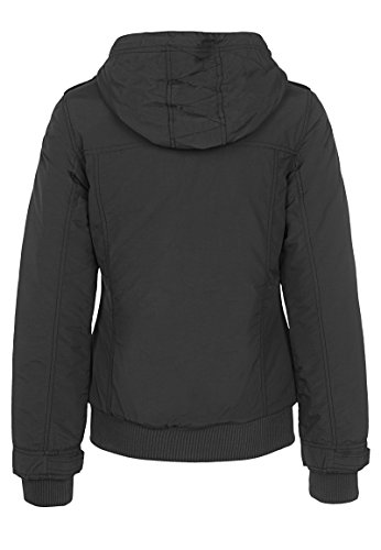 Sublevel damen steppjacke mit kapuze