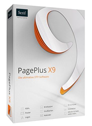 Serif PagePlus X9 - Broschüre Design-software