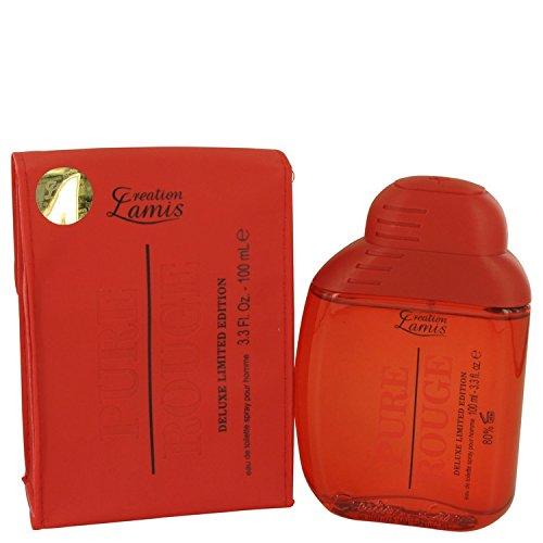 Pure Rouge by Lamis Eau De Toilette Spray 3.3 oz / 100 ml (Women)