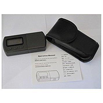 Tiptiper Digitale Drehscheibe Stylus Kraft Scale Gauge Tester Blue LCD Hintergrundbeleuchtung für Tonarm Phono Patrone -