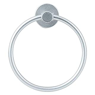 Towel Ring, GLANICS No Drill Towel Holder Strong Adhesive Towel Rack for Bathroom, Brushed Finished