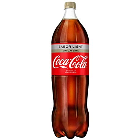 Coca Cola Light Sin Cafeina Refresco con gas de cola 2 l Botella de pl stico