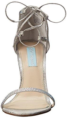 Betsey Johnson Gabi Toile Sandales silver
