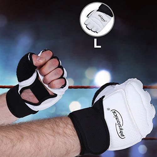 mezzi guanti boxe Physionics® Guanti da Palestra - Taglia S/M/L/XL