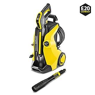 Kärcher Karcher K 5 Full Control Plus Pressure Washer, Yellow/Black, Medium