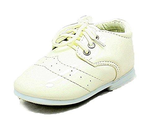 Bebés / Niños pequeños patente de White muchacho de la página Zapatos White