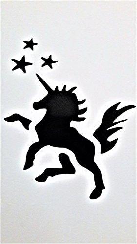 Einhorn My Little Pony Inspiriert Vinyl Aufkleber Sticker Black Cars Trucks Vans SUV Laptops Wall Art 5.5