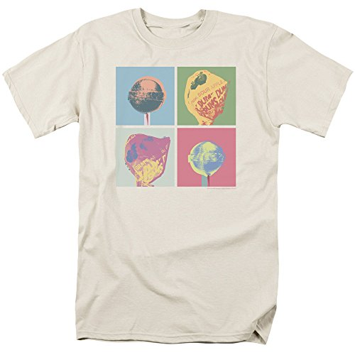 Trevco herren Dum Dums Pop Art Adult T-shirt T-Shirt - beige -