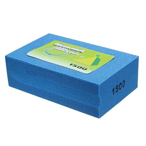 Marmor-polier-maschinen (Homyl Diamant Schleifblock Handschleifer Polierblock Polierflächen Universalschleifer Steinschleifer für Beton Marmor - 1500 Grit)