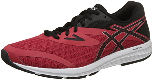 ASICS Men's Pacifica Classic Red/Black/Silver Running Shoes - 10 UK/India (45 EU)(11 US)(T825N.2390)