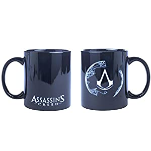 Assassin's Creed Tasse Animus aus Keramik, dunkel blau.