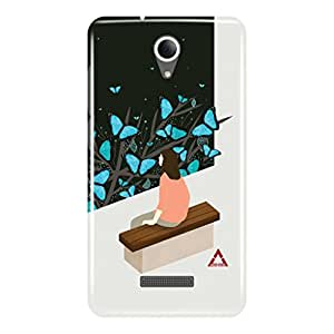 a AND b Designer Printed Mobile Back Cover / Back Case For Micromax Canvas Pace 4G Q416 (MIC_Q416_3D_3514)