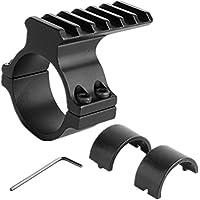 Triplespark 1inch - 1.18inch Scope Anillo adaptador 25.4-30mm Airsoft Gun Scope barril de montaje 20mm Weaver tubo de montaje Picatinny Rail Riser para Riflescope Óptica