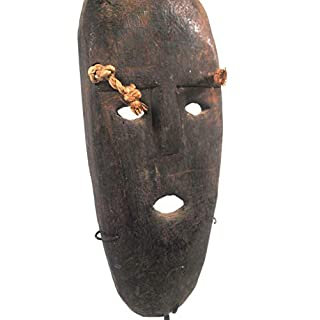 Terrapin Trading Traditional Atoni Animist Tribal Protective Paddle Mask Frm West Timor W Stand 4