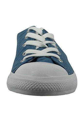 Converse Chucks Ballerina 551656C Gris Dainty All Star Ballet dentelle Souris Blanc Noir Blue Coast White White
