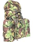 Full Size British Military Army Combat Rucksack Bergen 120L DPM + Pockets + Yoke