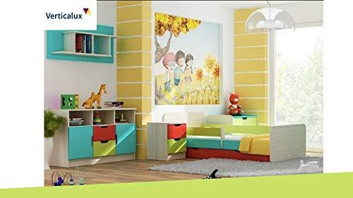 Un Juego de 5Piezas Set niños Muebles–Winnie The Pooh 4con Cama. CREA un Habitaciones de Träumen para su Hijo