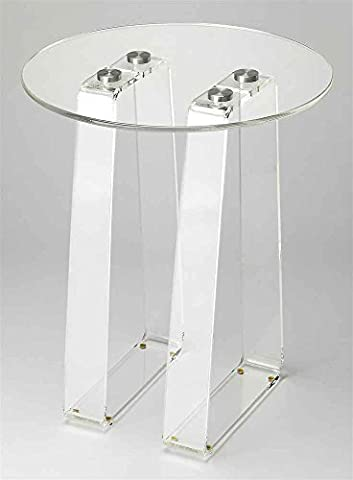 Side Table in Clear Finish by Butler Specialty