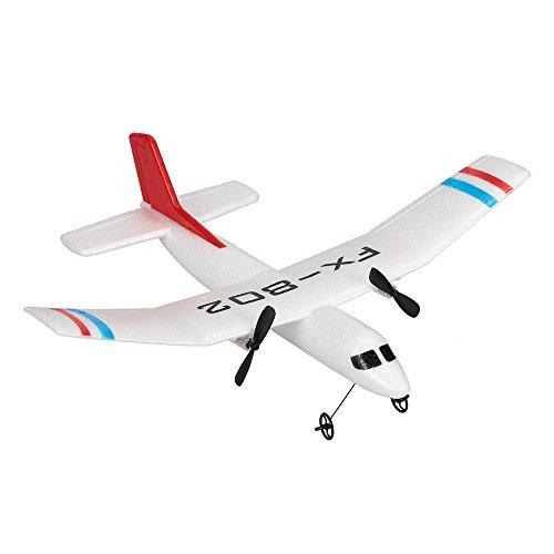 Goolsky Flybear FX-802 2.4G 2CH Control remoto Glider 310mm Envergadura...