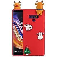 Shinyzone Samsung Galaxy Note 9 Hülle Weihnachten,Samsung Galaxy Note 9 Silikon Hülle-3D Niedlich Design Weiche... preisvergleich bei billige-tabletten.eu