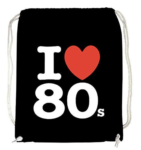Certified Freak Love 80s Gymsack Black