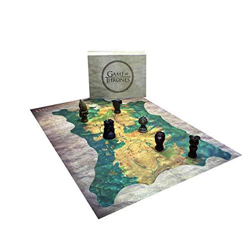 """Juego de Tronos Réplica Robb Stark Mapa Westeros con marcadores, Multicolor, 14"""" x 4.75"""" x 18"""" (Dark Horse B00FJ2AYAA)"""