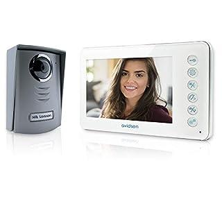 AVIDSEN - Video intercom 2-wire 7-inch infrared microphone speaker Avidsen 112240